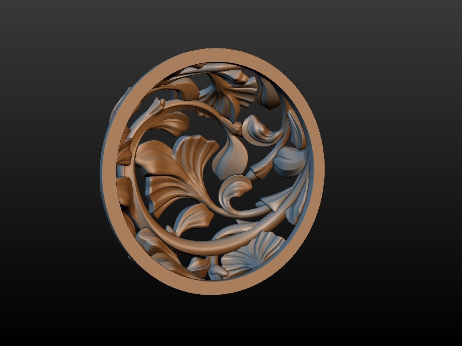 Earring-06.jpg Download STL file Earring • 3D printing template, Skazok