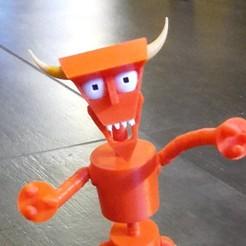 Télécharger modèle 3D gratuit Pièces sur mesure pour Beelzebot par Simonarri, Sebtheis