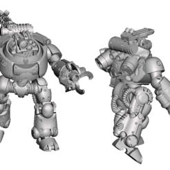 Imprimir en 3D gratis Beep boop robo agressor, Sebtheis