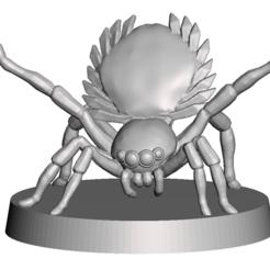 Descargar STL gratis Compañero de la araña pavo real, Sebtheis