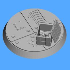 Descargar diseños 3D gratis FWW 32mm base nuka, Sebtheis