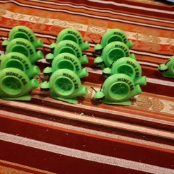 Descargar Modelos 3D para imprimir gratis Turbo de la mascota MiniZ65, Sebtheis