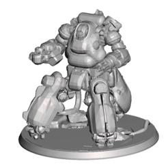 Descargar diseños 3D gratis FWW Sentry Robot, Sebtheis