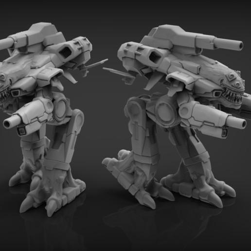Download free STL file Black Marauder • 3D printer design, Sebtheis