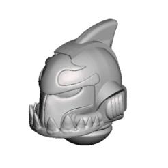 Descargar modelos 3D gratis Casco Primaticus sharkitus, Sebtheis