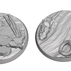 Download free 3D printing files FWW 48mm bases, Sebtheis