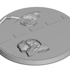 Descargar archivo 3D gratis FWW 60mm base, Sebtheis