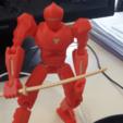 Download free STL Articulated armor robot, Sebtheis
