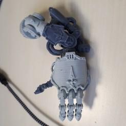 Descargar modelo 3D gratis Mano de Dominion Crusader MK3 (28mm), Sebtheis