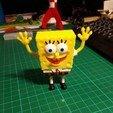 Télécharger modèle 3D gratuit Figurine Bob l'éponge multicolore, Sebtheis