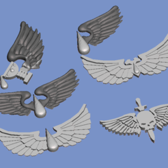 Download free STL file Bloody marines ornaments • 3D print object, Sebtheis