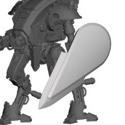 Impresiones 3D gratis Pavimento de hoja para el portador de la armadura, Sebtheis