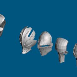 Descargar Modelos 3D para imprimir gratis Cabezas/máscaras Dominion Crusader MK3 (28mm), Sebtheis