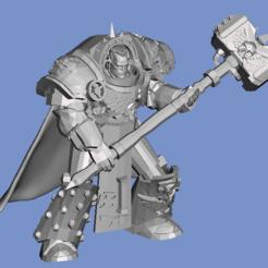 Descargar modelos 3D gratis Proxy del maestro del capítulo (28mm), Sebtheis