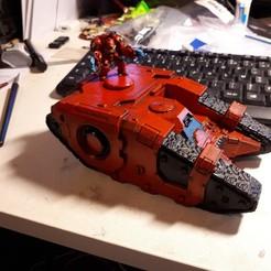 Descargar modelos 3D gratis Chasis del tanque Sceleratus (28mm), Sebtheis