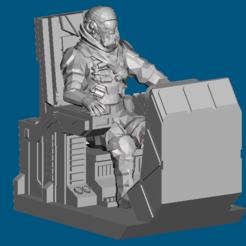 Impresiones 3D gratis Cockpit Dominion Crusader MK3 (28mm), Sebtheis