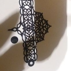 Free 3D model Gothic bracelet, Caramel01