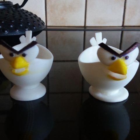 Archivos 3D gratis coquetier Angry Bird, Caramel01