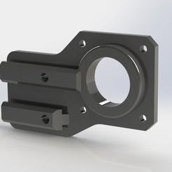 SUPPORT MOTEUR Y _ENDER 3 PRO.JPG Télécharger fichier STL SUPPORT MOTEUR AXE Y - ENDER 3 PRO • Objet à imprimer en 3D, Franck80