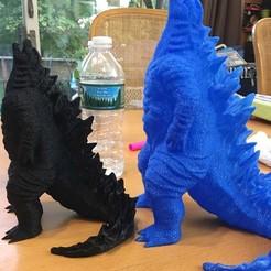 Download STL file Godzilla! No Supports!, DavidKatz