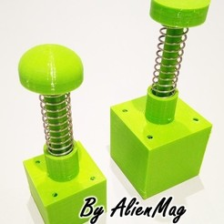 Download 3D printer files Garden - Press clods for gardening, AlienMag