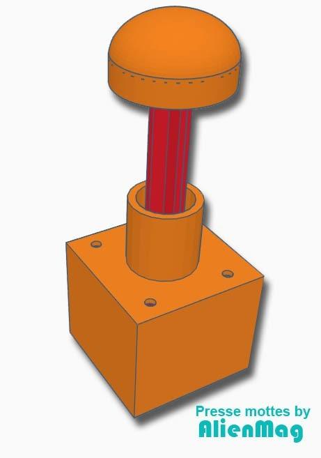 presse-mottes.jpg Download STL file Garden - Press clods for gardening • 3D printer design, AlienMag