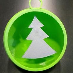 Free STL Christmas ball, AlienMag