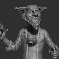 Free Zombie rubit 3D printer file, al3x