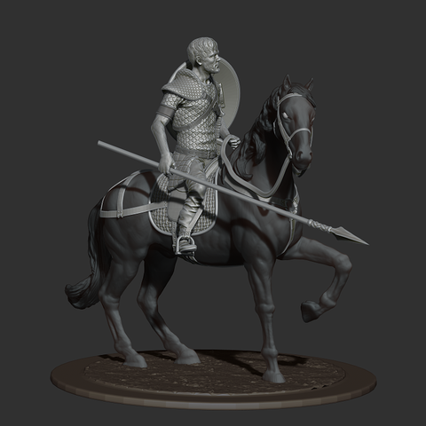 ZBrush Document.png Download free STL file Rider • 3D printing model, al3x