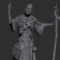 Download free 3D printer designs Warlock, al3x