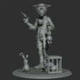 Free 3d printer files Zombie rubit, al3x