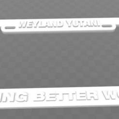 Télécharger fichier imprimante 3D gratuit Weyland-Yutani, Construire des mondes meilleurs, Aliens, becker2