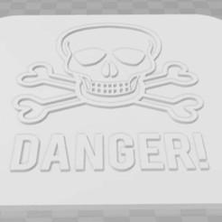 Imprimir en 3D gratis Señalización de peligro, becker2