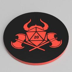 FIGHTER_TRAY_2.jpg Download free STL file FIGHTER THEMED DICE TRAY, 7 POCKETS • 3D printable template, becker2