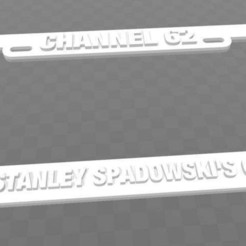Download free 3D printer files U62 - CHANNEL 62, HOME OF STANLEY SPADOWSKI'S CLUBHOUSE, becker2