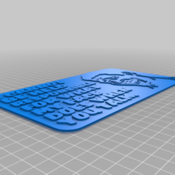 MY_FACE_SIGN.png Download free STL file I CANNOT BE HELD RESPOSIBLE FOR WHAT MY FACE DOES WHEN YOU TALK, sign • 3D printer template, becker2