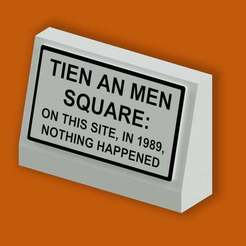 Download free 3D printing designs TIEN AN MEN SQUARE HISTORICAL SITE MARKER, (THE SIMPSONS), becker2