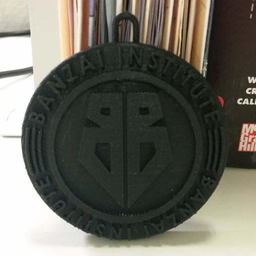 Download free 3D printer templates Banzai Institute Christmas Ornament, Buckaroo Banzai, becker2