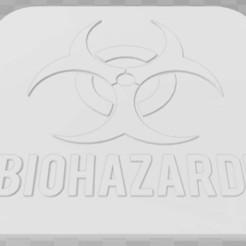 Descargar archivos 3D gratis Señalización de riesgos biológicos, becker2