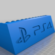 Download free 3D printing designs PS4 short game stand, aml360