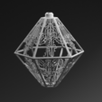 Download STL file 3D printed lamp pendant with unique light effects • 3D printing template, BenJavor