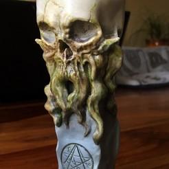Download 3D printing files Totem Chtulhu, jeffree
