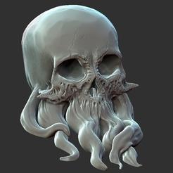 Descargar Modelos 3D para imprimir gratis Tentáculo del cráneo, jeffree