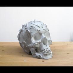Descargar modelos 3D gratis Ornamento Cráneo 2, jeffree