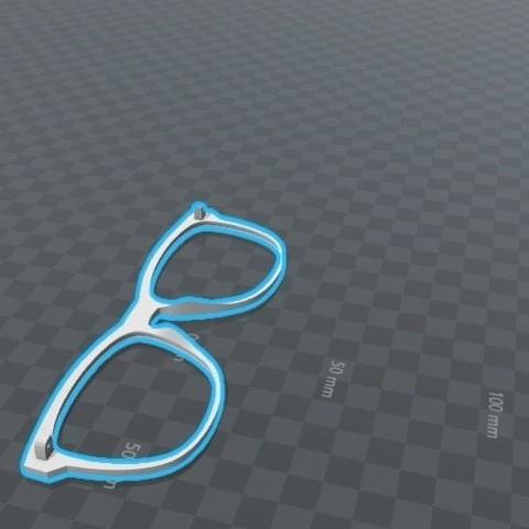Download STL file SunGlasses • 3D printing template, Piedrita23