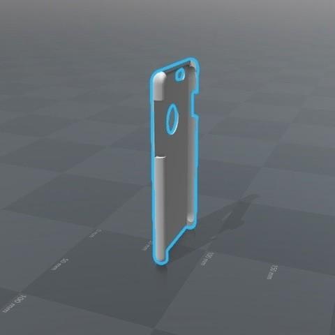 STL Iphone 6 Case, Piedrita23