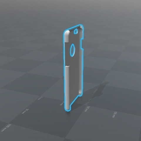 3D print model Iphone 6 Case, Piedrita23