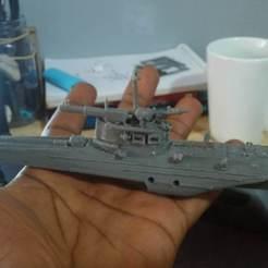 Impresiones 3D G5 barco ruso guerra juego de trueno de guerra, Rafaellacerda3d