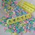 mariposas.jpg Download free STL file Cookie cutter / Fondant • 3D printing model, ichano