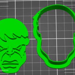 Descargar STL Hulk cookie cutter, ichano